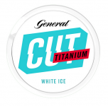 General Cut White Ice Portion Blue Titanium Chewing Bags
