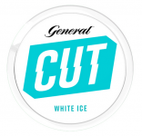 General Cut White Ice Portion Blue Chewing Bags