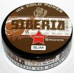 Siberia 80° Brown Slim Ice Cold Power Chewing Bags 20 g