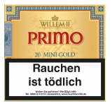 Willem II Primo Line Mini Sumatra (Gold) 20 Stück = Packung