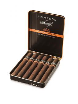 Davidoff Primeros Nicaragua 6 Stück = Metall-Box (-3% CV24-Kistenrabatt)
