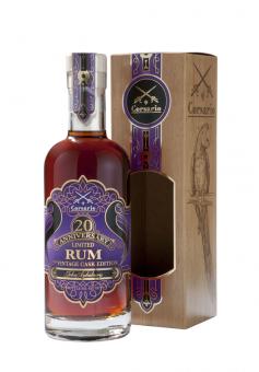 Corsario 20th Anniversario Rum Second Vintage Cask Edition by John Aylesbury 500 ml = Flasche