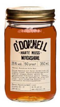 O´Donnell Moonshine Harte Nuss 25% 350 ml = Flasche (ohne Ausgiesser)