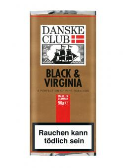 Danske Club Black & Virginia 50g/100g 50 g = 1 Beutel