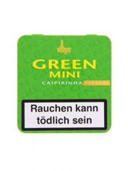 Villiger Green Mini Filter (Caipirinha) 20 Stück = Packung (-3% CV24-Packungsrabatt)