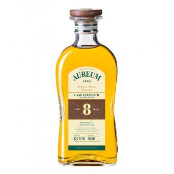 Ziegler Aureum 1865 Cask Strength 8 Jahre Single Malt Whisky by John Aylesbury 700 ml = Flasche