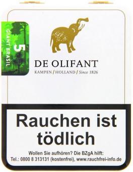 De Olifant 5 Brazil Giant Cigarillo 5 Stück = Packung