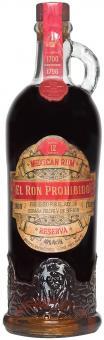 El Ron Prohibido Reserva 700 ml = Flasche