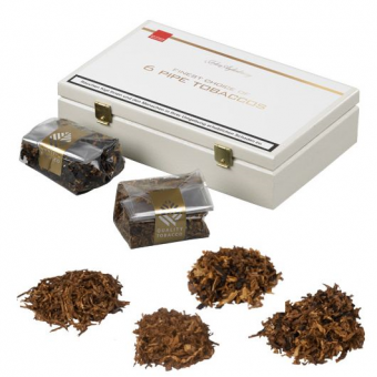 John Aylesbury 6 Pipe Tobaccos Sampler á 25g 6 x 25 g = 1 Kiste