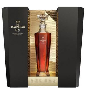 Macallan Decanter No.6 in Lalique 700 ml = Flasche