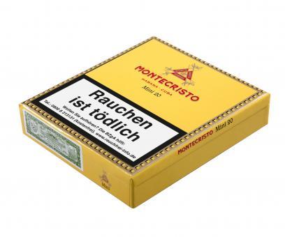 Montecristo Mini 20 Stück = Packung (-3% CV24-Packungsrabatt)