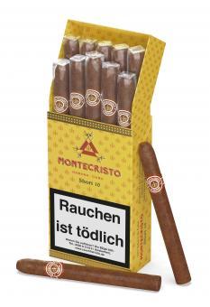 Montecristo Short 10 Stück = Packung (-3% CV24-Packungsrabatt)
