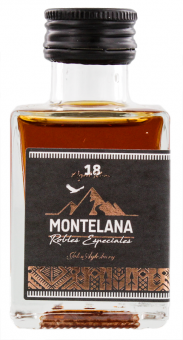 Montelana Rum 18 Robles Especiales by John Aylesbury 50 ml = Flasche