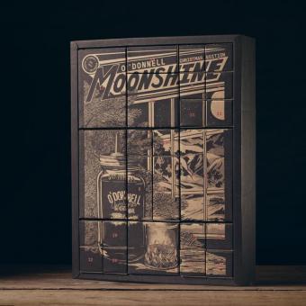 O´Donnell Moonshine Adventskalender - Auf 30 Stück limitiert!