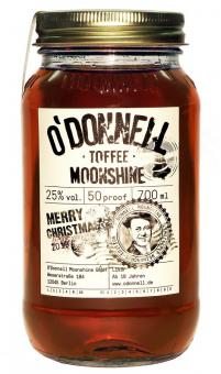 O´Donnell Moonshine Toffee 25% 350 ml = Flasche (ohne Ausgiesser)
