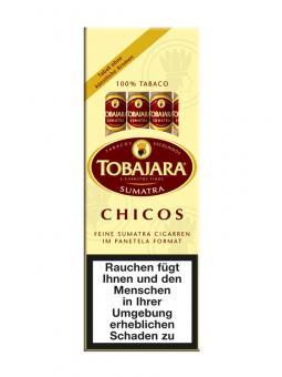 Tobajara Chicos Sumatra 25 Stück = Packung (-3% CV24-Packungsrabatt)