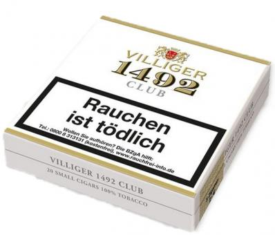 VILLIGER 1492 Club 20 Stück = Packung