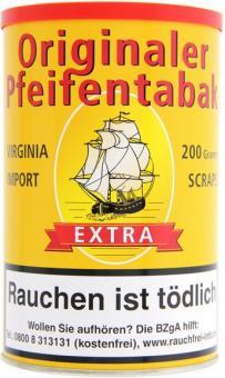 Aromatischer Pfeifentabak Virginia Import Scraps 200g 200 g = 1 Dose