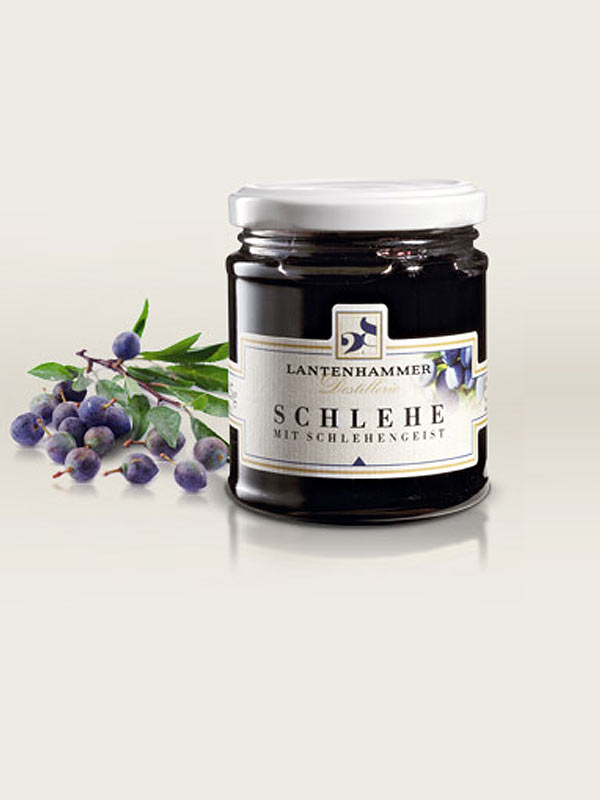 cigarrenversand24 lantenhammer schlehen marmelade 225g. Black Bedroom Furniture Sets. Home Design Ideas