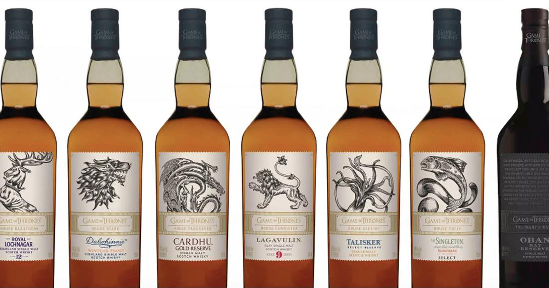 Cigarrenversand24 Game Of Thrones 7er Whisky Sampler Limited