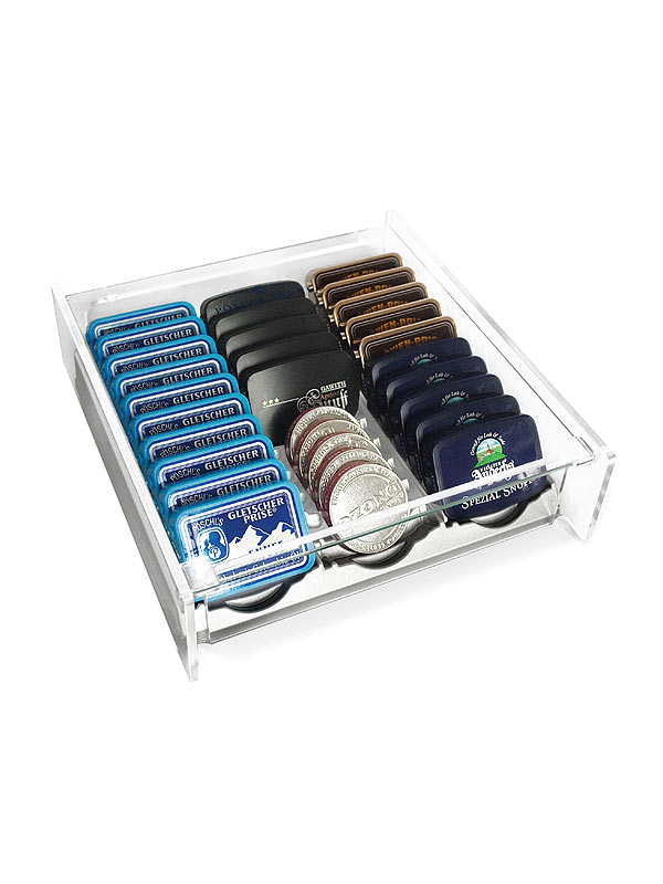 cigarrenversand24 p schl zahlteller mit verschiedenen snuffs zigarren kaufen g nstiger. Black Bedroom Furniture Sets. Home Design Ideas