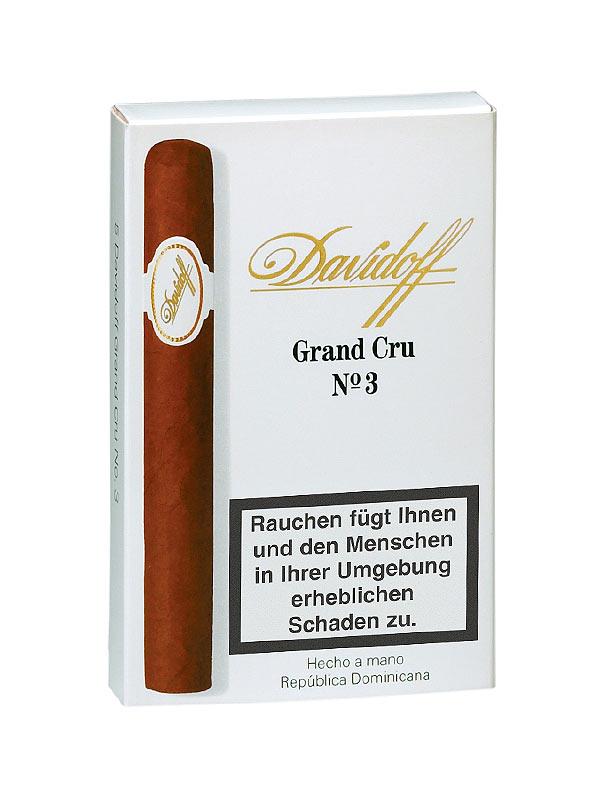cigarrenversand24 davidoff grand cru no 3 1 st ck einzeln verpackt zigarren kaufen. Black Bedroom Furniture Sets. Home Design Ideas