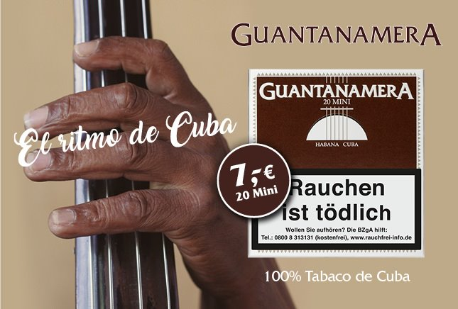 Guantanamera Mini Cigarillos
