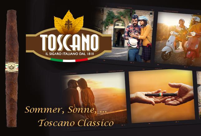 Toscano Cigars Juli 2021